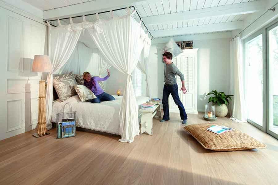 Oak Andante Plank White Room