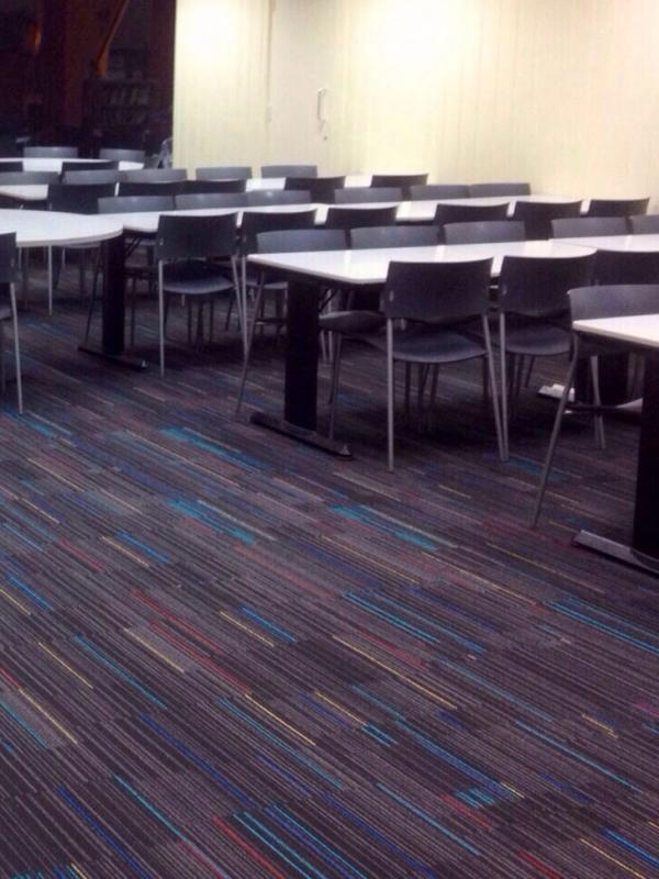Carpet Tiles in Canteen 2