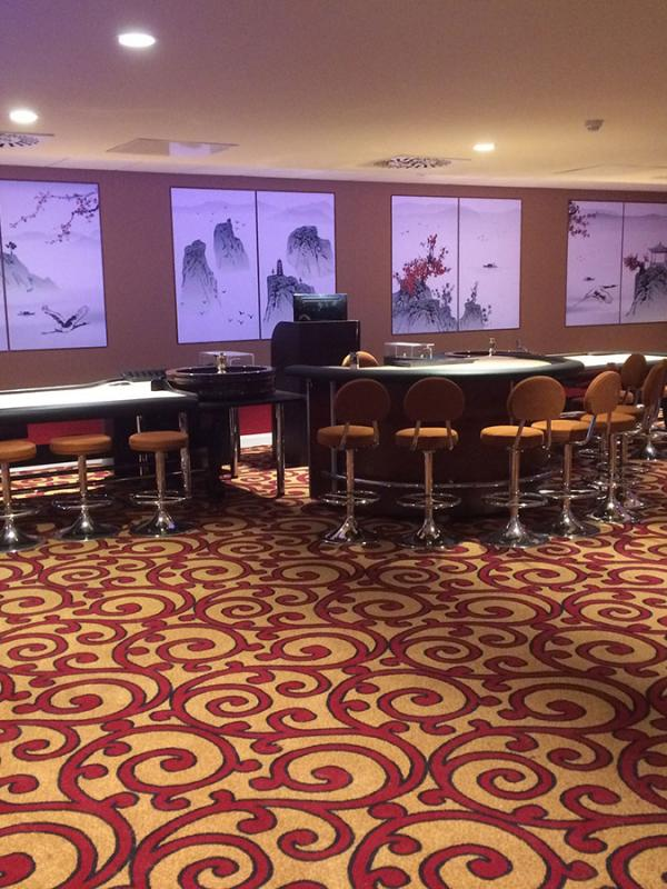 Casino Bespoke Carpet Flooring 2