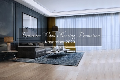 Promotion on Signature Wood Flooring